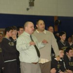 Coach Murphy and Izzy