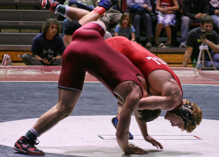 Jordan Leen EIWA Finals vs JP O'Conner - Photo By Lindsey M. Mechalik