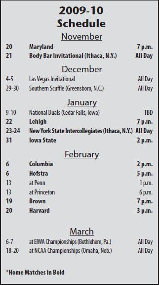 2010_Cornell_Schedule