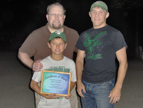 Shamrock Most Improved Wrestler 2008