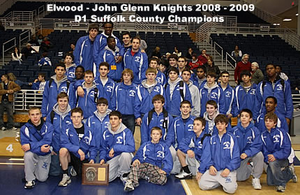 John Glenn Section Champions