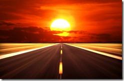 drive-sunset